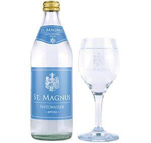 Kühbacher St. Magnus Tafelwasser spritzig